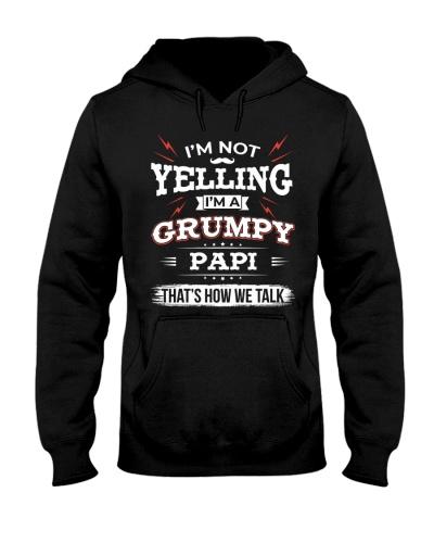 I'm A grumpy Papi