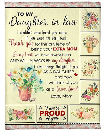 To My Daughter-In-Law U Will Always Be My Daughter
