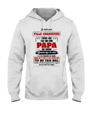 Je Suis Une Fille Chanceuse Que J'ai Un Fou Papa  Hooded Sweatshirt thumbnail
