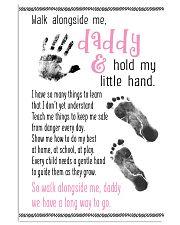 Walk Alongside Me Daddy 11x17 Poster front