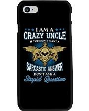 I Am A Crazy Uncle Phone Case thumbnail