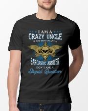 I Am A Crazy Uncle Classic T-Shirt lifestyle-mens-crewneck-front-13