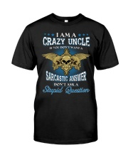 I Am A Crazy Uncle Premium Fit Mens Tee thumbnail