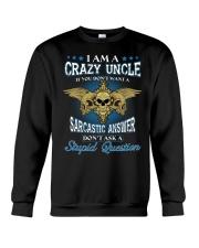 I Am A Crazy Uncle Crewneck Sweatshirt thumbnail