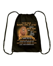 To My Dear Son-In-Law From Father-in-law Drawstring Bag thumbnail