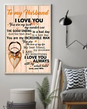 To My Husband You Are The Love Of My Life I Love U 11x17 Poster lifestyle-poster-1