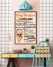 To My Husband You Are The Love Of My Life I Love U 11x17 Poster lifestyle-poster-6