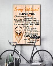 To My Husband You Are The Love Of My Life I Love U 11x17 Poster lifestyle-poster-7
