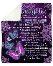"""Inside This Blanket Is A Piece Mom To Daughter Sherpa Fleece Blanket - 50"""" x 60"""" thumbnail"""