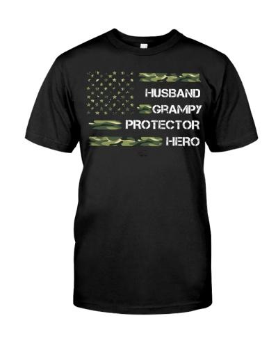 Husband Grampy Protector Hero