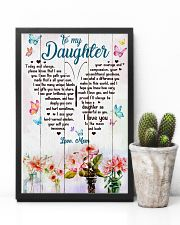 Daughter Butterfly I Love You To The Moon And Back 11x17 Poster lifestyle-poster-8