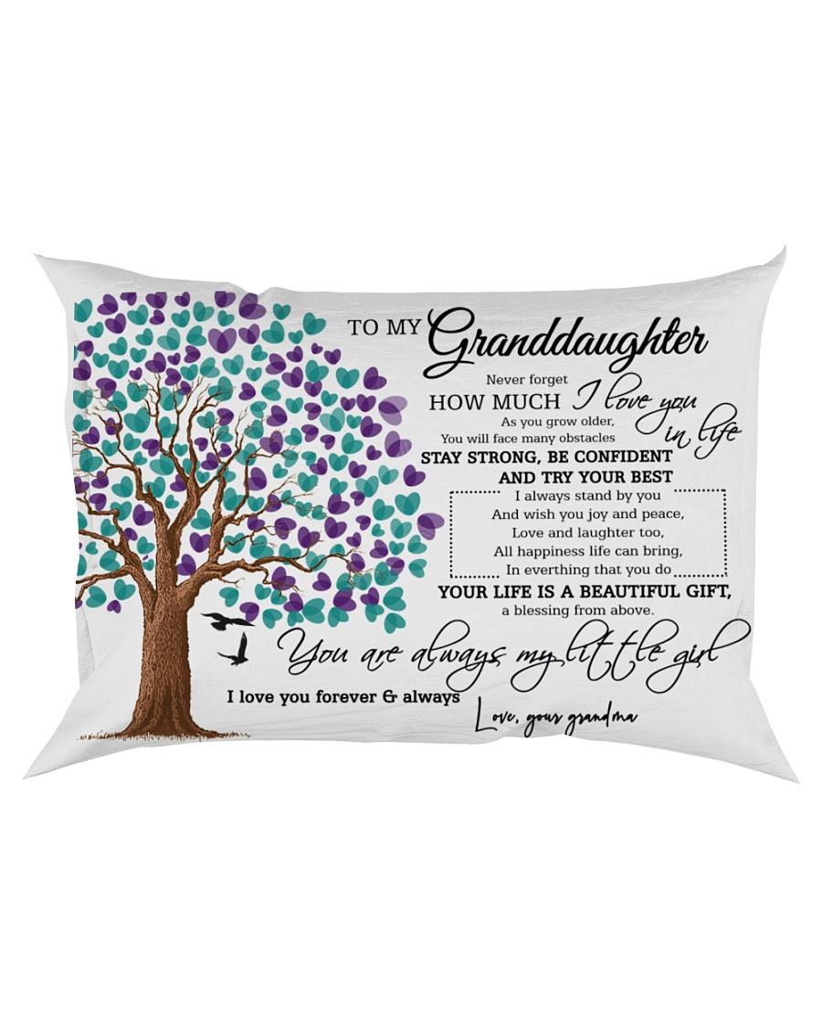 To My Granddaughter Rectangular Pillowcase