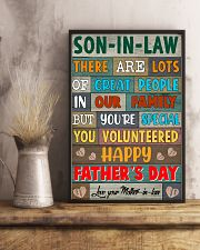 SIL You're Special Happy Father's Day 11x17 Poster lifestyle-poster-3