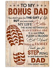 Bonus Dad -Thank you Steping in and become the Dad 11x17 Poster front
