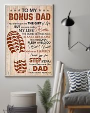 Bonus Dad -Thank you Steping in and become the Dad 11x17 Poster lifestyle-poster-1