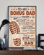 Bonus Dad -Thank you Steping in and become the Dad 11x17 Poster lifestyle-poster-2