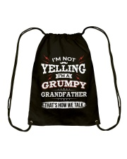 I'm A grumpy Grandfather Drawstring Bag thumbnail