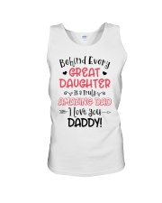 Behind Every Great Daughter Is A Truly Amazing Dad Unisex Tank thumbnail