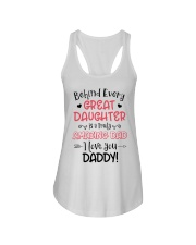 Behind Every Great Daughter Is A Truly Amazing Dad Ladies Flowy Tank thumbnail
