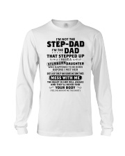 I'm The Dad Have Stubborn Daughter Long Sleeve Tee thumbnail