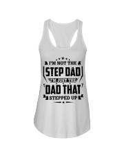 I'm just the Dad that stepped up Ladies Flowy Tank thumbnail