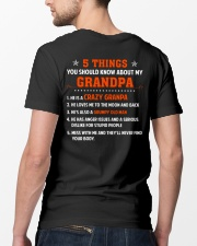 5 Things You Should Know About My Grandpa Classic T-Shirt lifestyle-mens-crewneck-back-5