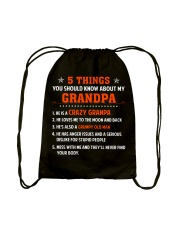 5 Things You Should Know About My Grandpa Drawstring Bag thumbnail