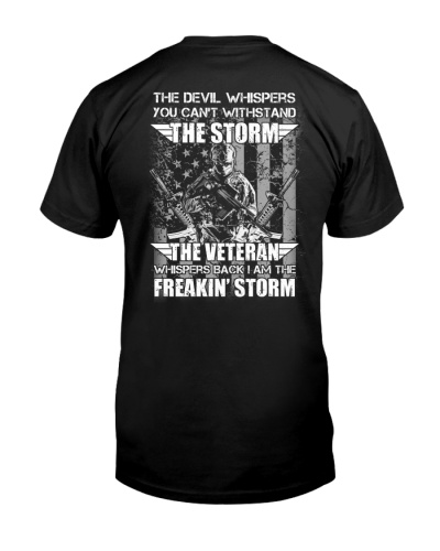 The Veteran Whispers Back I Am The Freakin' Storm