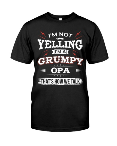 I'm A grumpy Opa