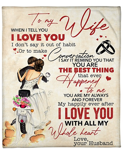 To My Wife I Love You With All My Whole Heart