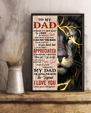 Lion You'll Always Be My Dad The Legend - For Dad 11x17 Poster lifestyle-poster-3