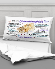 Once Upon A Time Grandma To Granddaughter Rectangular Pillowcase aos-pillow-rectangular-front-lifestyle-03