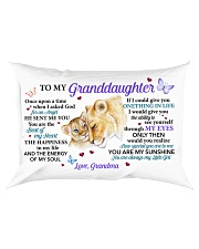 Once Upon A Time Grandma To Granddaughter Rectangular Pillowcase front