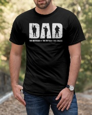 Dad The Veteran The Myth The Legend Classic T-Shirt apparel-classic-tshirt-lifestyle-front-53