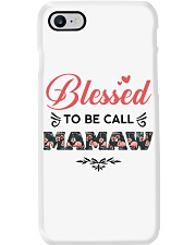 Blessed To Be Call Mamaw Phone Case thumbnail