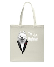 The DogFather Samoyed Tote Bag thumbnail