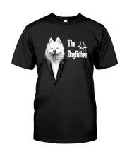 The DogFather Samoyed Classic T-Shirt front