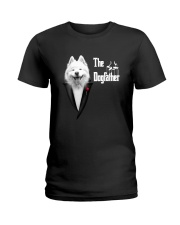 The DogFather Samoyed Ladies T-Shirt tile