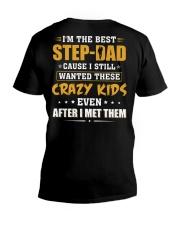 I'm The Best Step-dad V-Neck T-Shirt thumbnail
