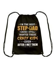 I'm The Best Step-dad Drawstring Bag thumbnail