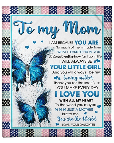 Mom Butterfly Thanks 4 The Sacrifices You Make