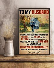 Husband I Love You Unconditionally 11x17 Poster lifestyle-poster-3