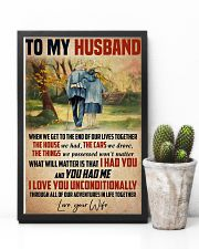 Husband I Love You Unconditionally 11x17 Poster lifestyle-poster-8