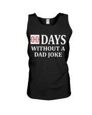 00 Days Without A Dad Joke Unisex Tank thumbnail
