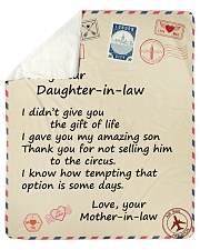 Didn't Give U The Gift-Mother-InLaw Daughter-InLaw Sherpa Fleece Blanket tile