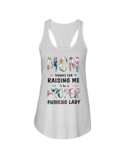 Mom Thanks For Raising Me  Ladies Flowy Tank thumbnail