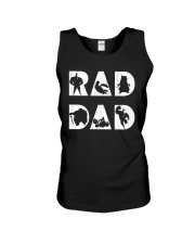 Rad Dad Unisex Tank tile