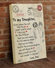 Even When I'm Not Close By Dad To Daughter 16x24 Gallery Wrapped Canvas Prints aos-canvas-pgw-16x24-lifestyle-front-03