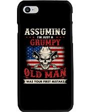 Assuming I'm Just A Grumpy Old Man Phone Case thumbnail