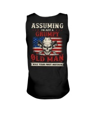 Assuming I'm Just A Grumpy Old Man Unisex Tank thumbnail
